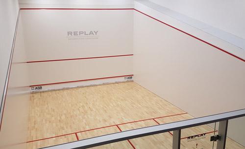 Squashový kurt v našem sportovním centru
